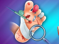 (Sale 90% OFF) Foot Doctor Game - Unity Source Code